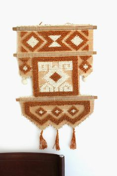 Vintage Movement:Retro Tapestry Macrame Wall Hanging
