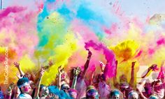 The Color Run after party.