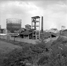 Milano - Zona Bovisa - Stabilimenti industriali - 1955