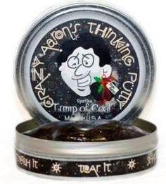 """Crazy Aaron's Holiday Mini Lump of Coal 2"""" Tin Crazy Aaron's"""