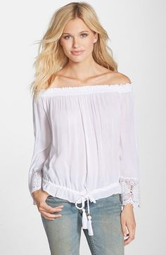 O'Neill 'Beau' Off the Shoulder Top available at #Nordstrom