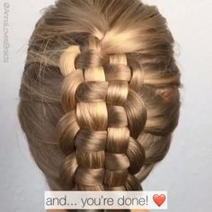 wedding hairstyles videos Zipper braid By: annalovesbraids Unique Braided Hairstyles, Short Hairstyles For Thick Hair, Hairstyles With Glasses, Box Braids Hairstyles, Braids For Long Hair, Girl Hairstyles, Hairstyles Videos, Wedding Hairstyles, Unique Braids
