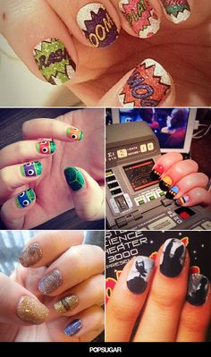 If only I had more fingers . . . #nailart via @POPSUGARTech