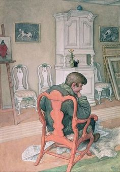 Carl Larsson - Esbjorn Convalescing 1916