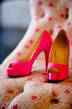 Pink Louboutin heels - LOVE