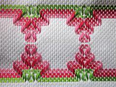 Huck Towels, Swedish Weaving Patterns, Swedish Embroidery, Chicken Scratch, Crafty Projects, Ribbon Embroidery, Needlepoint, Cross Stitch Patterns, Needlework