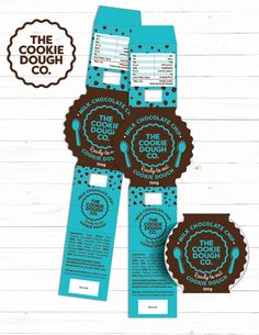 Fiverr freelancer will provide Packaging Design services and design professional product label and packaging including Print-Ready within 3 days Salad Packaging, Food Box Packaging, Dessert Packaging, Bakery Packaging, Packaging Stickers, Cookie Packaging, Food Packaging Design, Packaging Design Inspiration, Cookies Branding