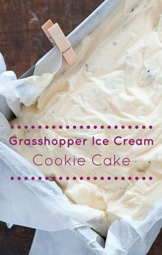 Clinton Kelly put together a Grasshopper Ice Cream Cookie Cake that used layer upon layer of creamy, sweet goodness. This is one dessert you don't want to pass up!