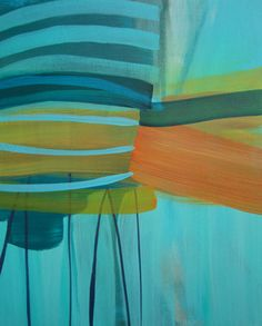 Abstract Paintings by Laurie Close