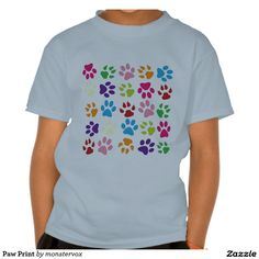 Paw Print Shirt #Paw #Prints #Animal #Pet #Dog #Cat #Fashion #Shirt #Tshirt #Tee