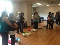 Staff members can learn valuable First Aid skills together in a familiar environment, like a spare classroom or Lab at work. Contact info@link2life.ca to arrange a course for your staff or students!