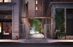 By RONDA KAYSEN Great Jones Alley, between Broadway and Lafayette Street, will assume a more rarefied role when it becomes the exclusive entrance for a condominium. Published: November 2015 at from NYT Real Estate Article. Lafayette Street, New York City Apartment, Modern Crafts, Expensive Houses, In Law Suite, Luxury Apartments, Sustainable Design, Condominium, That Way