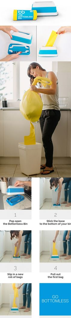 Why is replacing the #trash #bag after you empty the #garbage SO annoying?! All…