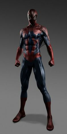 Alternate 'The Amazing Spider-Man' Suit - Kym Barrett