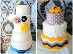 chevron cake! by polinaaa