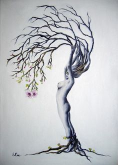 Another 'Tree Woman'.... I have a thing for tree women, I suppose.