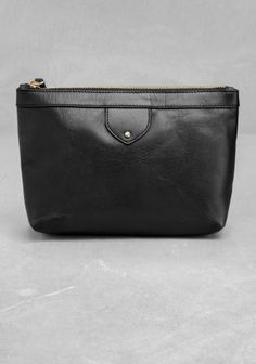 & Other Stories | Leather Vanity Bag