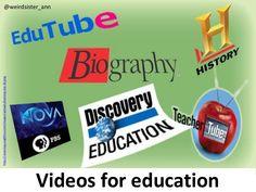 what-makes-a-video-educational by Anne-Mart Olsen via Slideshare