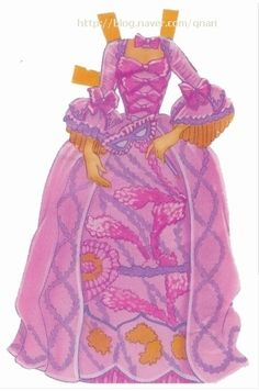 종이인형 (인어공주) : 네이버 블로그 * 1500 free paper dolls from artist Arielle Gabriel The International Paper Doll Society for Pinterest paper doll pals *