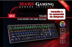 Teclado mecánico profesional Mars Gaming MK4