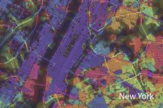 """Immerse yourself in the technicolor maps of """"Crayon the Grids"""""""