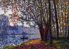 Sunlight on the Banks of the Loing via Francis Picabia