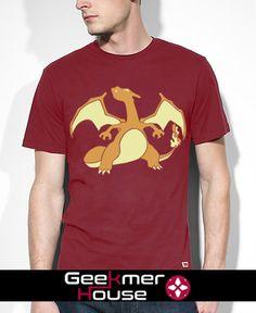 charizard geekmerhouse   t-shirt  pokemon go