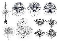 Bilderesultat for moon arrow tattoos