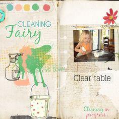 Cleaning Fairy - Mediterranka Design