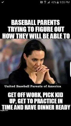 Baseball parent