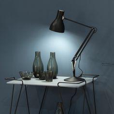 Une lampe darchitecte couture aux formes ?pur?es. La lampe de ...