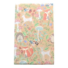Woodland Babies Wrapping Paper from Wrap and Revel
