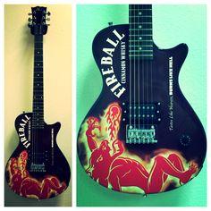Custom Fireball Electric Guitars by Brand O' Guitar Company