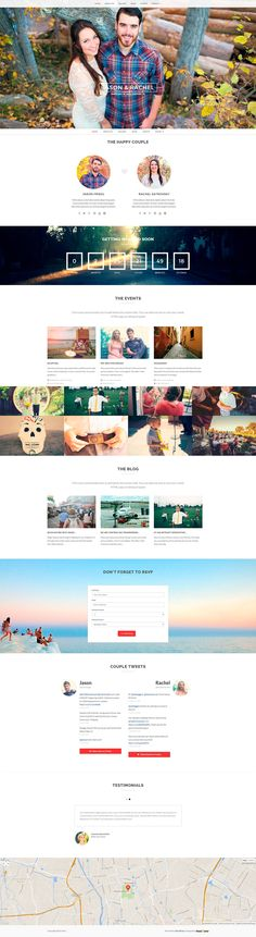 Buy Merit - Responsive WordPress Wedding Theme by ThemeWarriors on ThemeForest. Stop looking, this is the only wedding theme for WordPress you'll ever need! Google Web Font, Color Picker, Wedding Website, Wordpress, Typography, Layout, Colours, Letterpress, Page Layout