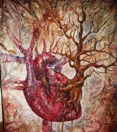 Image result for tree human heart art