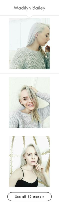 """""""Madilyn Bailey"""" by femalefaces ❤ liked on Polyvore"""