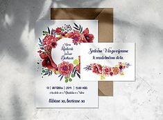 Poppy, Folk, Wedding Invitations, Detail, Popular, Forks, Wedding Invitation Cards, Folk Music, Poppies