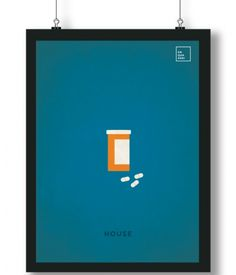Pôster/Quadro minimalista House