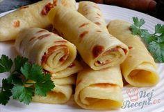 Bramborové lokše Breakfast Quotes, Plant Based Recipes, Potato Recipes, Fresh Rolls, Bon Appetit, Sweet Recipes, Baking Recipes, Food And Drink, Yummy Food