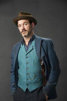 Captain Homer Jackson - Adam Rothenberg in Ripper Street Season 4
