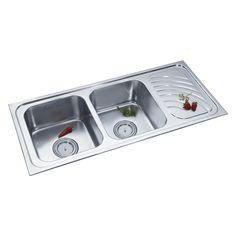 Buy Double Sink 322 in Sinks through online at NirmanKart.com