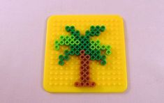Woodworking Perler beads easy, Perler beads food, Perler beads d… - Minecraft World 2020 Perler Bead Designs, Easy Perler Bead Patterns, Melty Bead Patterns, Hama Beads Design, Bead Embroidery Patterns, Diy Perler Beads, Perler Bead Art, Bead Loom Patterns, Beading Patterns