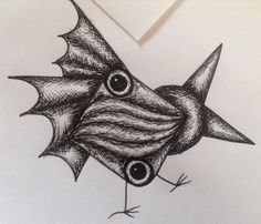 Close up of one of my doodle bugs
