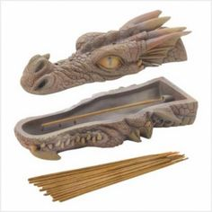 Dragon Incense Burner-Love in Light Candles Clay Projects, Clay Crafts, Ceramic Pottery, Ceramic Art, Dragon Incense Burner, Ceramic Incense Holder, Sandalwood Incense, Dragons, Pottery Sculpture