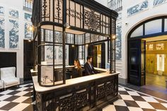Only: warmth and character make this palatial Madrid boutique hotel a real dream home-from-home. Only You Boutique Hotel Madrid. Decorative reception deskOnly You Boutique Hotel Madrid.