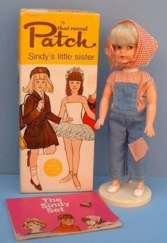 YEAR that rascal Patch Doll (Sindy little sister) - with Box, Stand, Fashion and The Sindy Set Booklet - by ? Nostalgic Images, Vintage Board Games, Sindy Doll, My Childhood Memories, Barbie Friends, Retro Toys, My Memory, Old Toys, Little Sisters