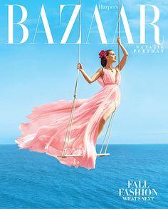 Натали Портман на страницах журнала Harper`s Bazaar