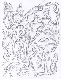Figure drawing studies - poses by -You can find Human figures and more on our website.Figure drawing studies - poses by - Human Figure Drawing, Figure Sketching, Figure Drawing Reference, Figure Drawings, Hand Reference, Figure Drawing Tutorial, Human Body Drawing, Anatomy Reference, How To Draw Human