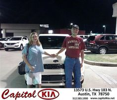 Thank you to Mark Wenning on your new 2013 Kia Soul from Belton Osborne Jr and everyone at Capitol Kia!