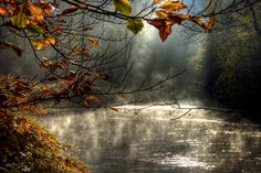 Lovely autumn day by the river! <pin by Lionel Self>